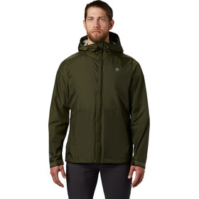 Mountain Hardwear Acadia Jas Heren, dark army